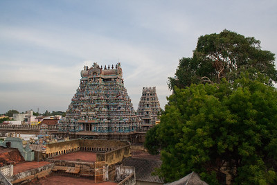 Gopuram of the southern Mathil Suvar