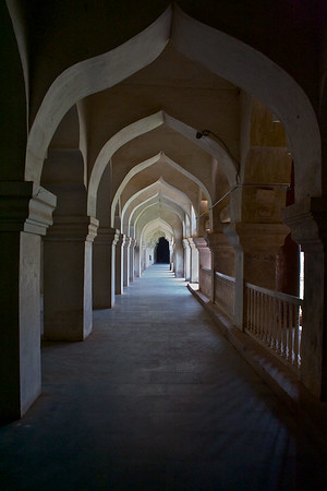 Palace corridor.