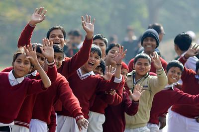Schoolkids - Delhi, India