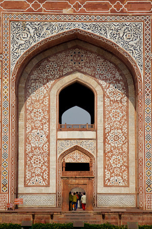 Entrance to Tomb of Akbar the Great - Sikandra, Agra