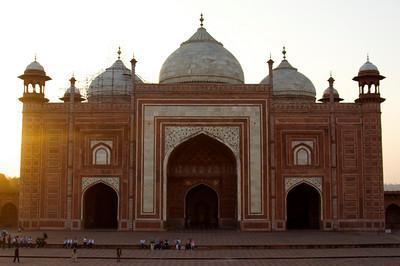 Mosque - Taj Mahal complex