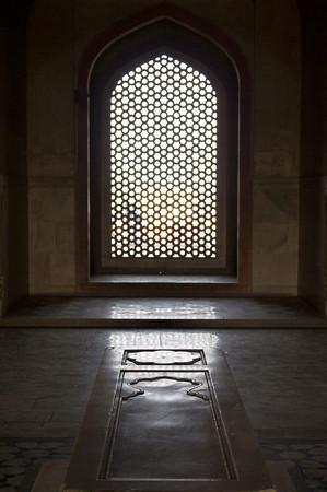 Inner chamber - Humayun's Tomb, Delhi