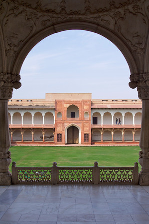Inner courtyard - Agra Fort