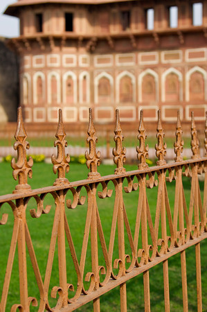 Courtyard - Agra Fort