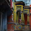 Hanuman temple in Varanasi.