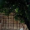 Outside the Jain temples in Khajuraho.