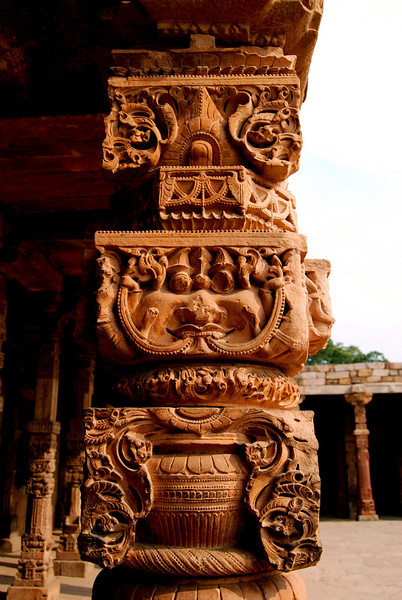 Beautiful Carvings (Qutab Minar, Delhi)