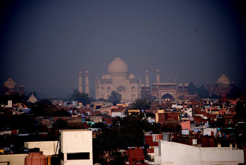 Taj Mahal From Afar (Agra)