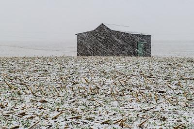 Indiana Barn, Feb 2018