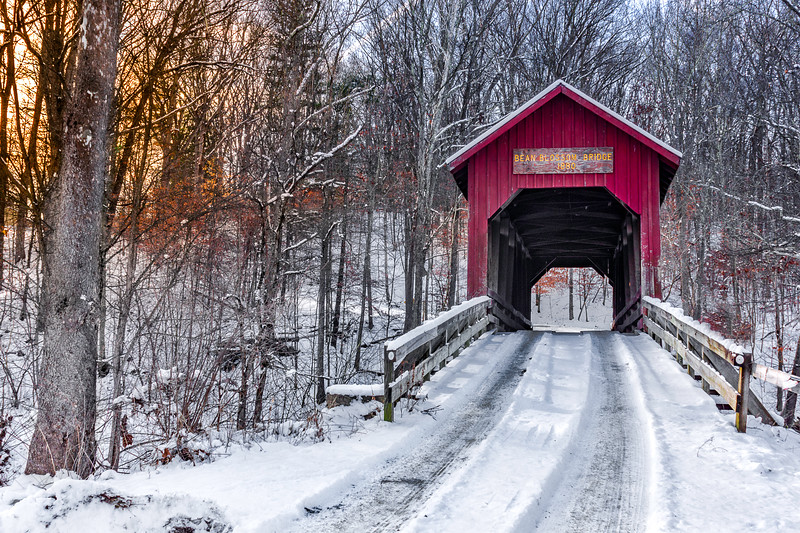 Historic Bean Blossom Covered Bridge