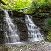 Lower Hoffman Twin Falls - Clifty Falls State Park