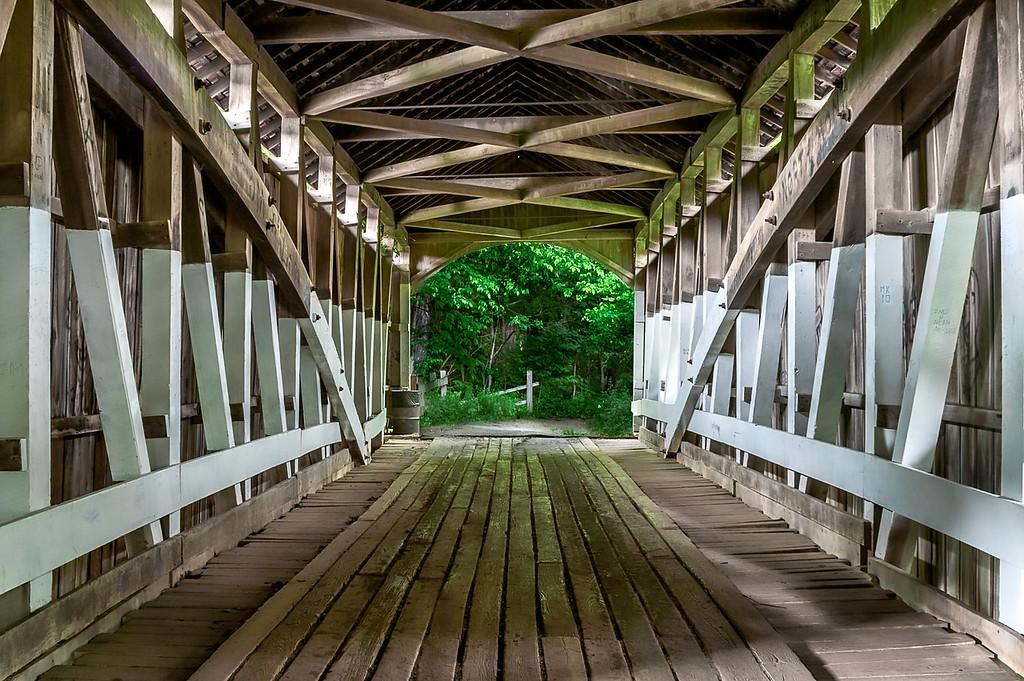 The Narrows Covered Bridge - Turkey Run State Park
