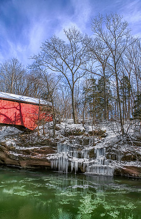 The Narrows Covered Bridge - Turkey Run State Park
