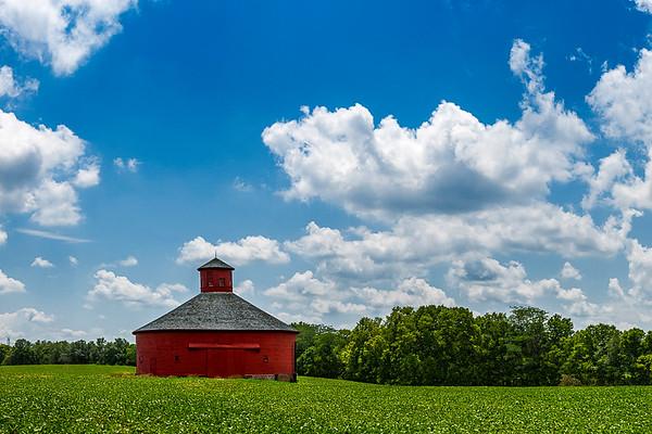 Red Round Barn