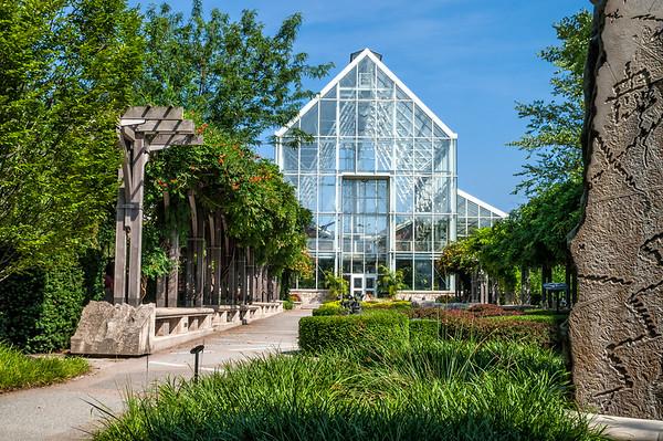 Hilbert Conservatory - White River Gardens