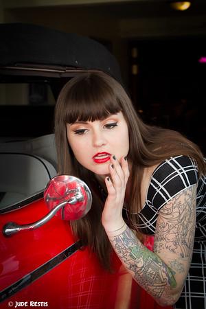Hot Rod Pinup - Katy