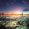 tide pool Sunset