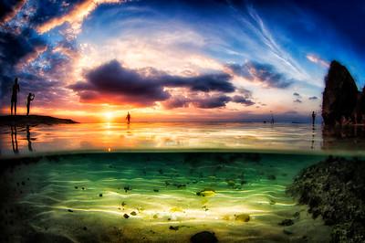 Sunset flash Uluz