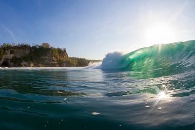 Surfing Bali 2013