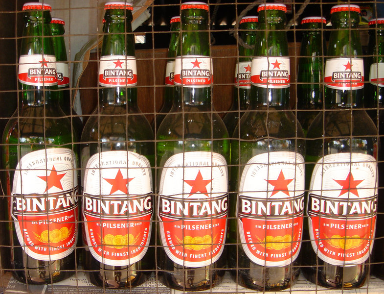Bintang Beer, West Timor, Indonesia