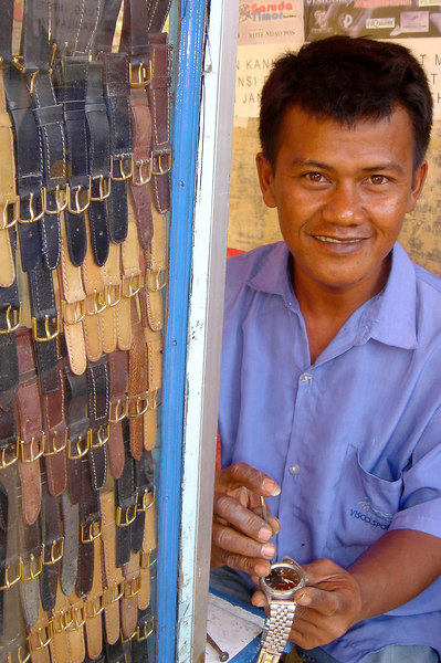 Watch Repair, XXX, West Timor, Indonesia