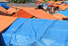 Plastic Roofs, Market, West Timor, Indonesia