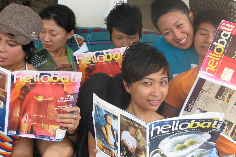 Friends of Andrew Goldman checkout Hello Bali Magazine, Ubud, Bali, Indonesia