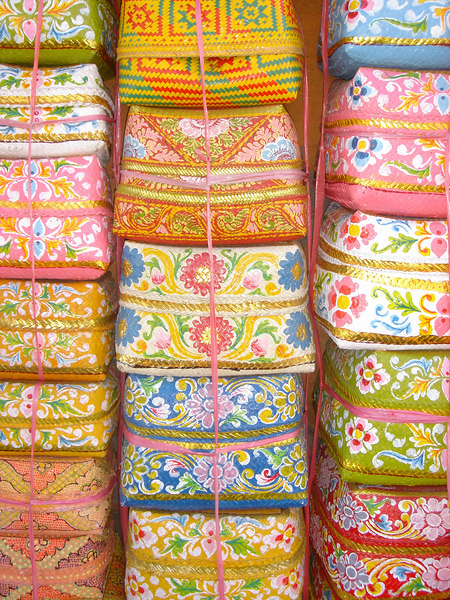 Woven Boxes, Bali, Indonesia