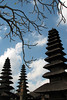 Meru Towers at Pura Taman Ayun State Temple, Tabanan, Bali, Indonesia