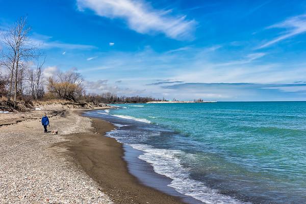 Adeline Jay Geo - Karis Illinois Beach State Park - Zion, Illinois