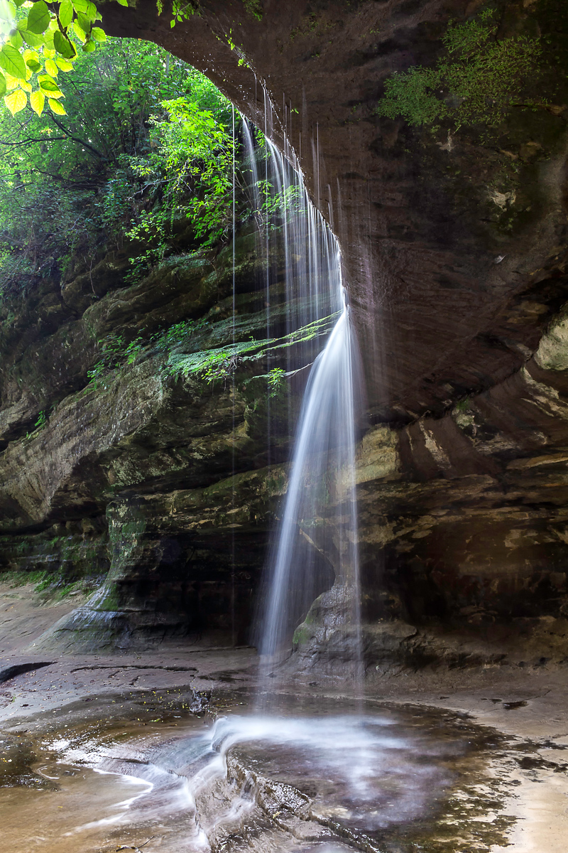 LeSalle Canyon - Starved Rock State Park - Oglesby, Ilinois