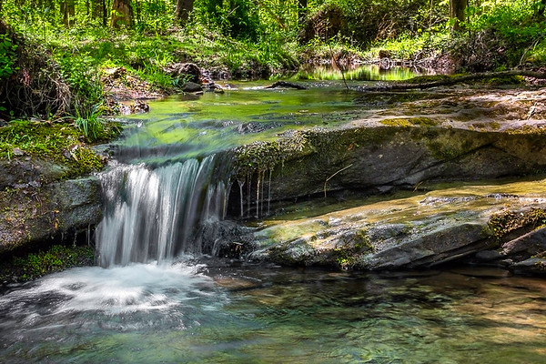 Burden Falls Wilderness - Shawnee National Forest - Stonefort, Illinois