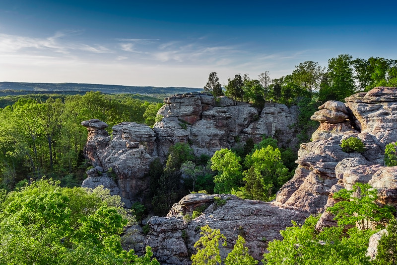 Garden of the Gods Wilderness - Shawnee National Forest - Herod, Illinois