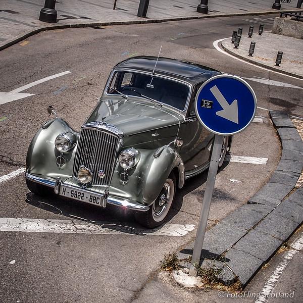 Bentley in Madrid