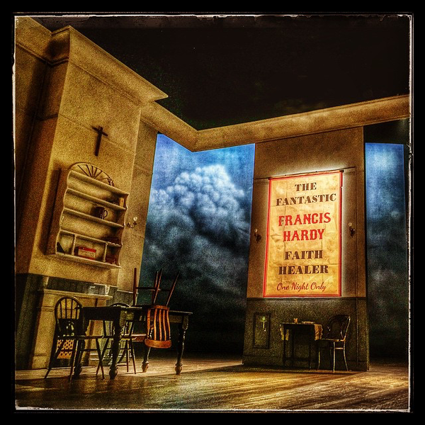 Catch critically acclaimed 'Faith Healer' @lyceumtheatre before it ends tomorrow night - a 'must see' #edinburgh #theatre