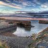 Portsoy Harbour at dusk