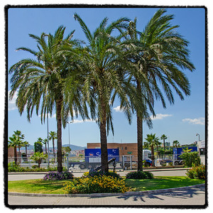 View from APM Terminals' office in the Port of Algeciras. Utsikt fra APM Terminals kontor i Algeciras havn.