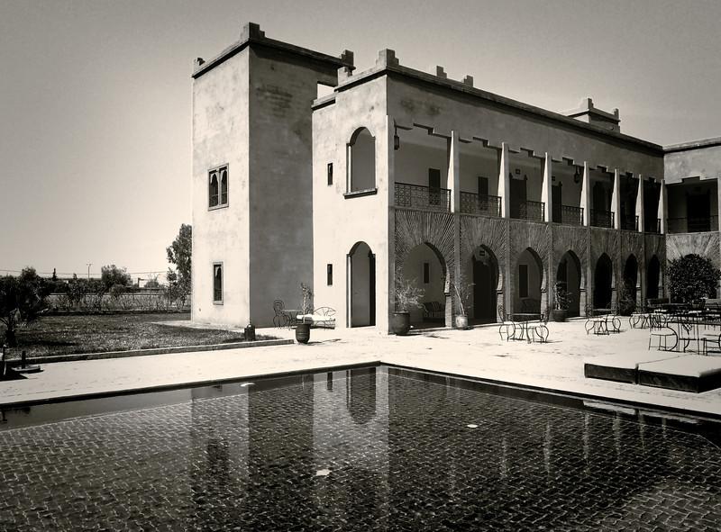 Miroir à la Villa de Marrakech