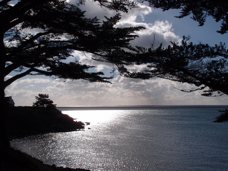 La côte sauvage, près de Port Navalo