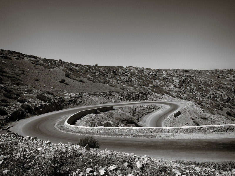 En route vers les chuttes d'Ouzoud, Maroc