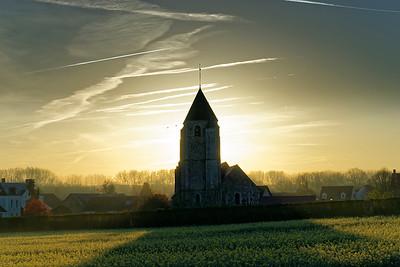 Lever au village - Imeray