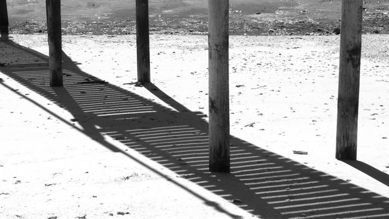 Aux pieds des carrelets, en pays de retz