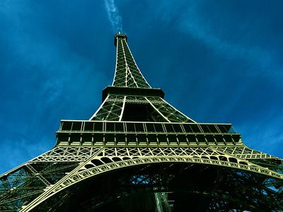 Eiffel Tower...smoking!