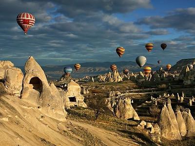 Balloons in Cappadocia