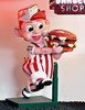 SIGN MUSEUM, CINCINNATI OHIO ... a vintage version of Frisch's Big Boy 3 dimensional trademark character.