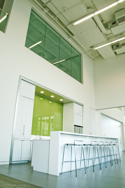office building kitchen area in Arlington, VA