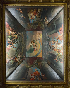 Ceiling at Charolttenburg Palace in Berlin