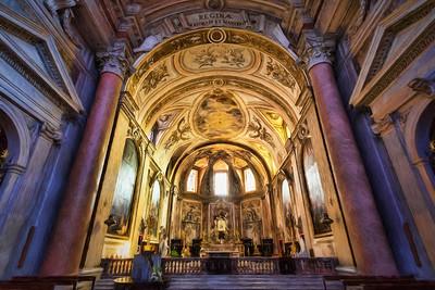 Roman Basilica Painted