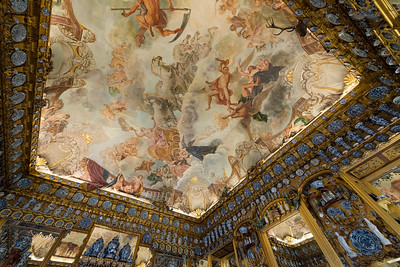 Porcelain Room at Charolttenburg Palace in Berlin