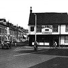 The Old Bell Inn probably around the nineteen twenties. To the right is Bell Lane, the original route into Ipswich. The left hand side of the pub was cut back when Wherstead Road, to the left was built, giving it a lop sided appearance.